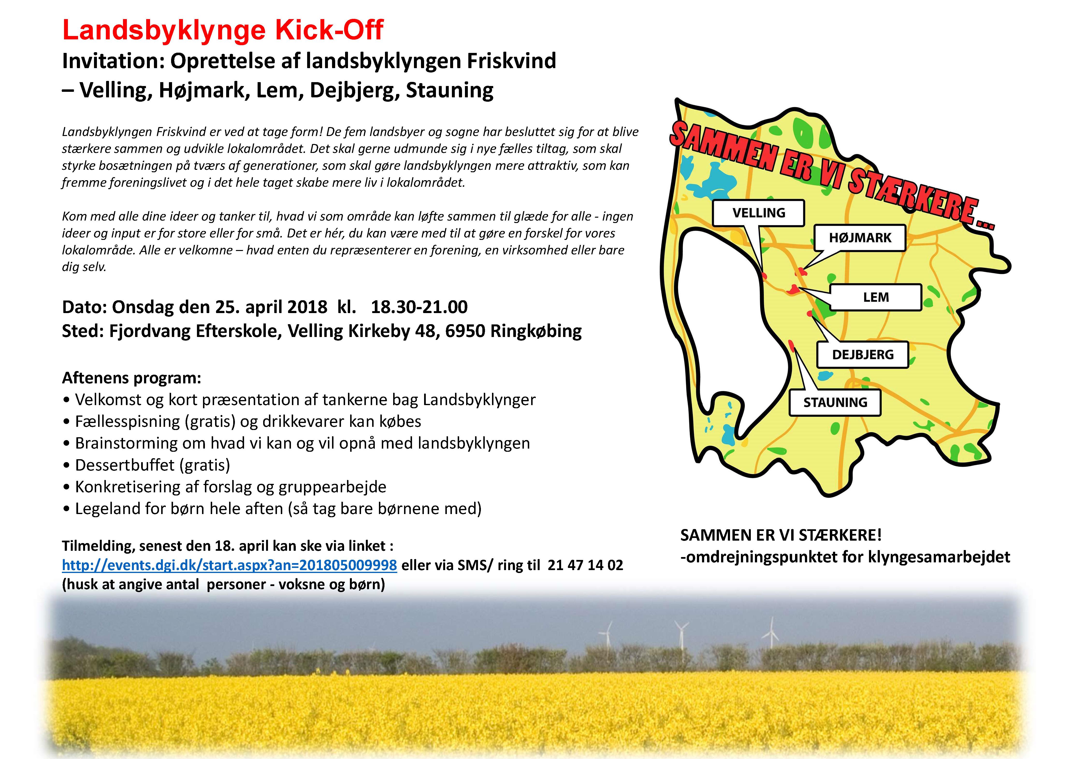 Klyngemøde @ Fjordvang Efterskole | Ringkøbing | Danmark
