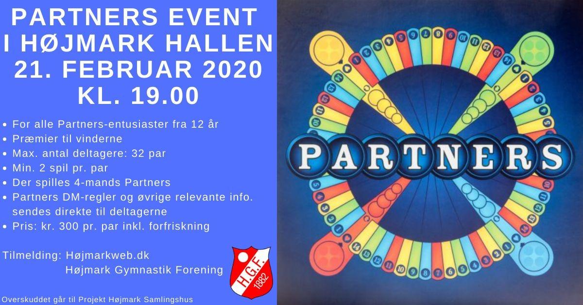 Partners Event 21 februar 2020